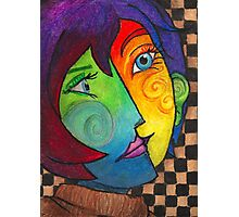 Picasso Portrait Photographic Print