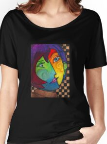 Picasso Portrait Women's Relaxed Fit T-Shirt