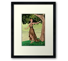 Sparkling Elf Framed Print