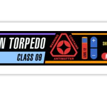 Photon Torpedo Sticker