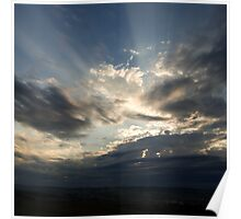 HEAVEN RAYS Poster