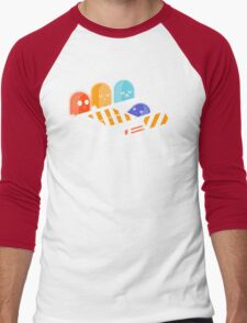 Ghost busted Men's Baseball ¾ T-Shirt
