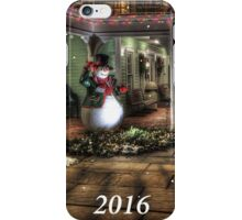 Happy New Year 2016 with Snowman iPhone Case/Skin