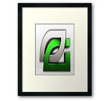 Optic gaming appeal Framed Print