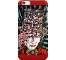 Johnny Depp as Willy Wonka iPhone Case/Skin