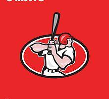 Big League Baseball Classic Poster  by patrimonio