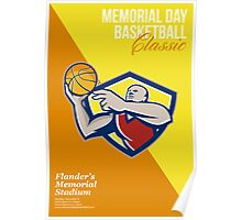 Memorial Day Basketball Classic Poster Poster