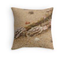 Alien Brains - Beachcomber Series Throw Pillow