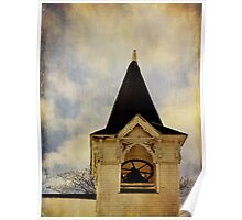 Steeple and Bell Poster