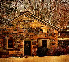 1851 Mt. Johnson Schoolhouse by PineSinger