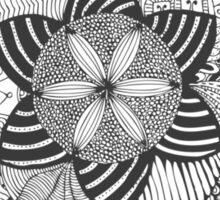 Turn black and white Sticker
