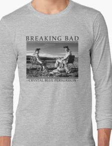 Breaking Bad - Crystal Blue Persuasion Long Sleeve T-Shirt
