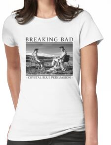 Breaking Bad - Crystal Blue Persuasion Womens Fitted T-Shirt