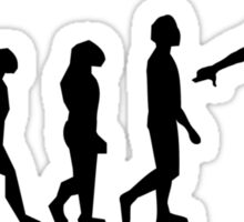 Skateboard Evolution Sticker