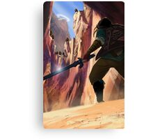 Legend of Zelda Death Mountain Canvas Print