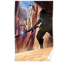 Legend of Zelda Death Mountain Poster