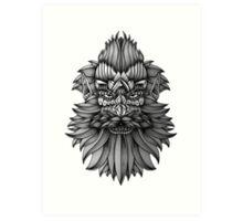 Ornate Dwarf Art Print