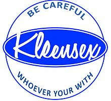 Kleensex parody logo of Kleenex by Thereal Appeal