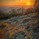 Winter sunset by jordygraph