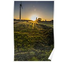 Yellow Grass On The Other Side Poster