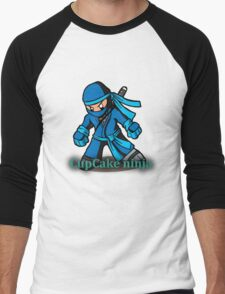 CupCake Ninja Tee Men's Baseball ¾ T-Shirt