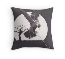 The Kingdom of the Jackdaw Throw Pillow