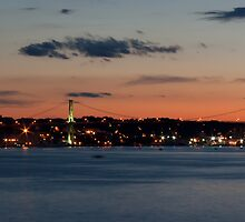 Halifax At Dusk by tonymaclean