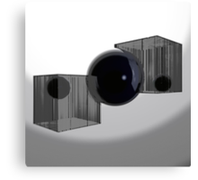 Blink Of An Eye - Variation Canvas Print