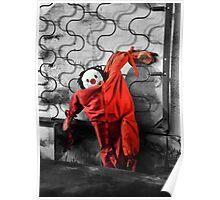 Red Pajamas Poster