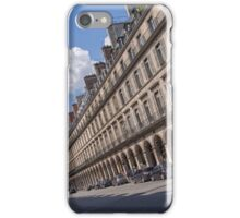 The Sideways Path to the Place de la Concorde iPhone Case/Skin