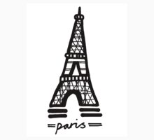 Paris Kids Tee