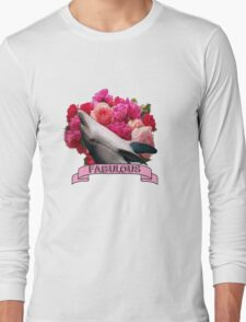 The Fabulous Dolphin Long Sleeve T-Shirt