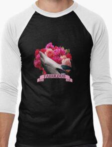 The Fabulous Dolphin Men's Baseball ¾ T-Shirt