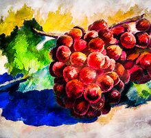 Grapes - Still Life by Wib Dawson