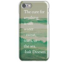 Salt Water Cure iPhone Case/Skin
