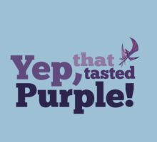 Yep, that tasted purple! by Ireffutable
