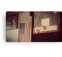 Basketball Gym Canvas Print