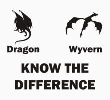 Dragon vs Wyvern - Know the Difference by timnock