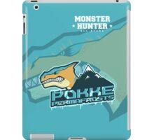 Monster Hunter All Stars - Pokke Permafrosts iPad Case/Skin