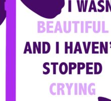 Rei || Wont Stop Crying Sticker