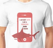 Rin || Dark Menacing Shark Unisex T-Shirt