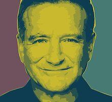 Robin Williams by wraithmatics