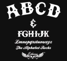 ABCD Alphabet Rocks! by Lilterra