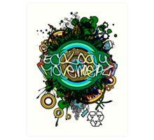 Ecology_Movement Art Print