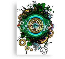 Ecology_Movement Canvas Print