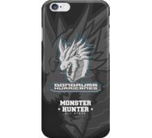 Monster Hunter All Stars - Dondruma Hurricanes iPhone Case/Skin