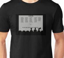 The Many Names of David Ryder Unisex T-Shirt