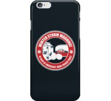Winter Storm Warning iPhone Case/Skin