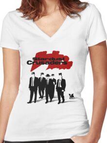 Jojo Reservoir Dogs Women's Fitted V-Neck T-Shirt
