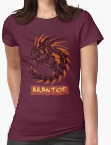 The Circular Tyrant of Fire Womens Fitted T-Shirt